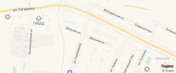Дальняя улица на карте Алатыря с номерами домов