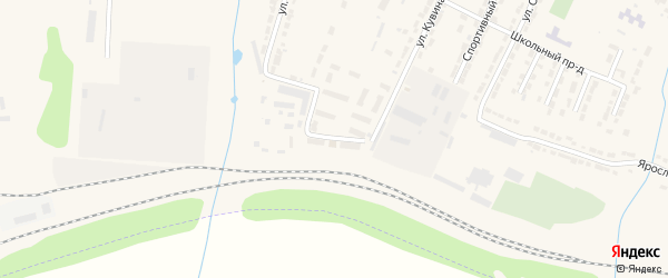 Квартал УПП на карте Алатыря с номерами домов