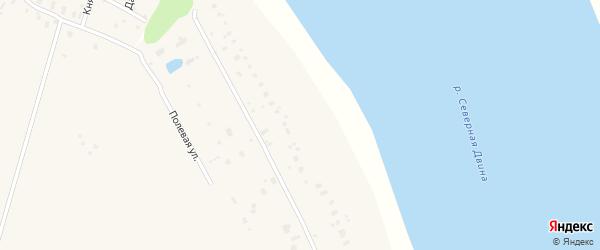 Полевая улица на карте поселка Усть-курьей с номерами домов