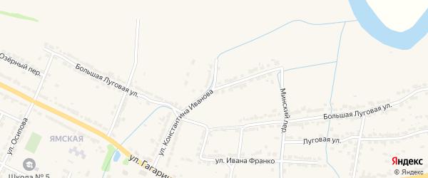Улица К.Иванова на карте Алатыря с номерами домов