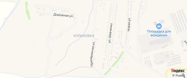 Приовражная улица на карте Алатыря с номерами домов