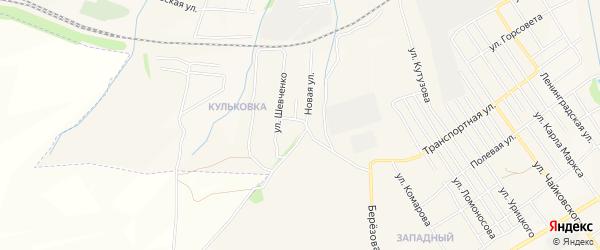 ГСК Западный-2 на карте Алатыря с номерами домов