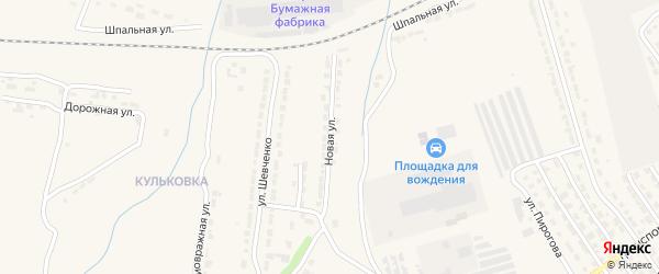 Новая улица на карте Алатыря с номерами домов