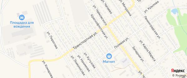 Улица Невского на карте Алатыря с номерами домов