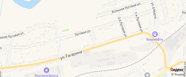 2-я Шпальная улица на карте Алатыря с номерами домов