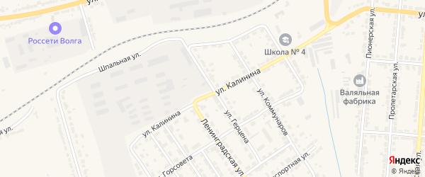 Улица Герцена на карте Алатыря с номерами домов