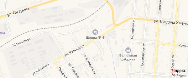 Почтовая улица на карте Алатыря с номерами домов