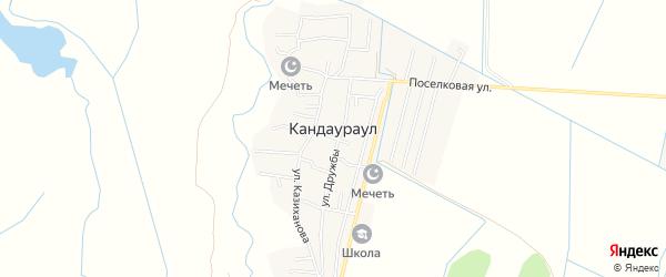 Карта села Кандаураула в Дагестане с улицами и номерами домов