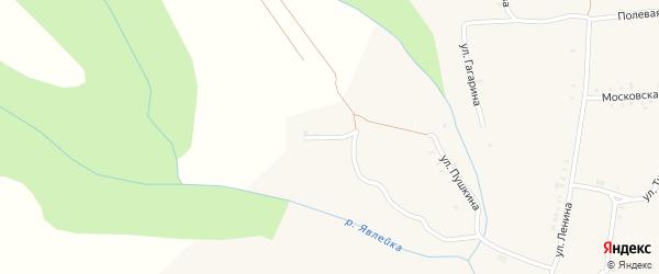Садовая улица на карте села Явлеи с номерами домов