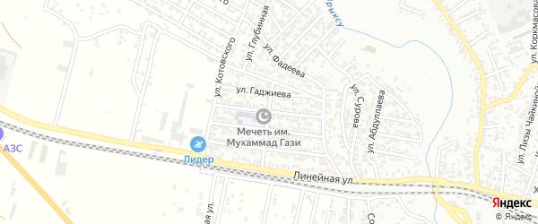Улица С.Стальского на карте Хасавюрта с номерами домов