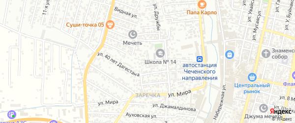 Ярыксувская улица на карте Хасавюрта с номерами домов