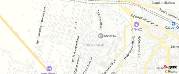 6-я улица на карте поселка Мичуриной с номерами домов