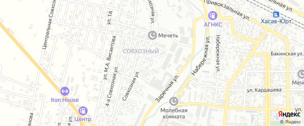 5-я улица на карте Совхозного поселка с номерами домов
