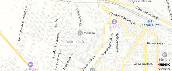 2-я улица на карте поселка Хутора с номерами домов