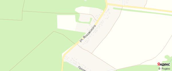 Улица Ясковского на карте деревни Торханы с номерами домов