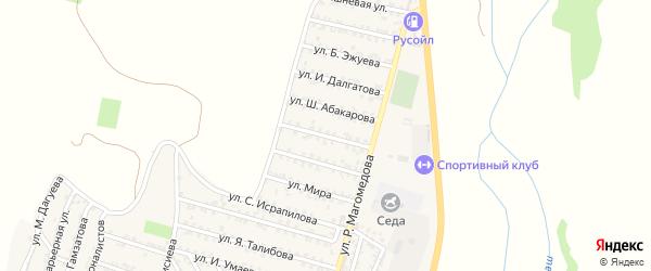 28-я линия на карте микрорайона Кемпинга с номерами домов