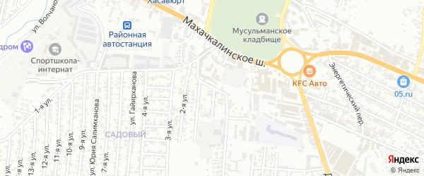 Улица Энергетиков на карте Юбилейного микрорайона с номерами домов