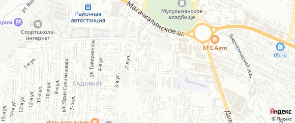Аркабашская улица на карте Хасавюрта с номерами домов