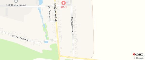 Молодежная улица на карте деревни Торханы с номерами домов