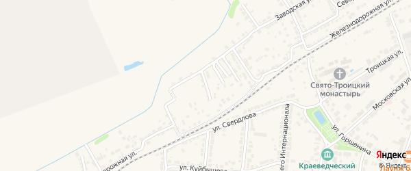 Гоголевский спуск на карте Алатыря с номерами домов