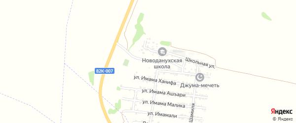 Хасавюртовская улица на карте железнодорожной станции Карланюрта с номерами домов