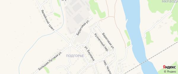 Кузнечная улица на карте Алатыря с номерами домов