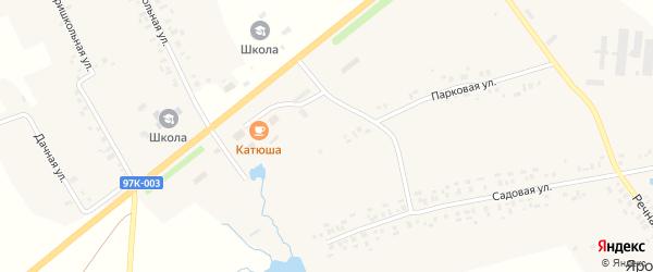 Парковая улица на карте деревни Ярославки с номерами домов