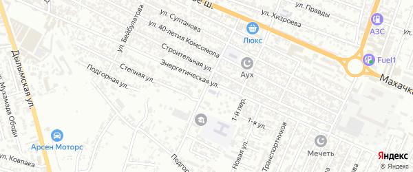 Новая улица на карте Хасавюрта с номерами домов