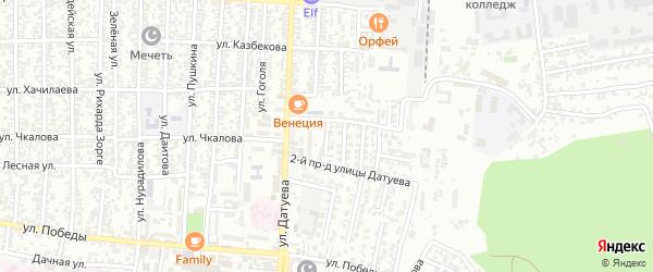 Воинов Интернационалистов улица 3-й проезд на карте Хасавюрта с номерами домов