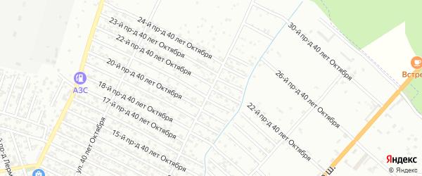 40 лет Октября улица 22-й проезд на карте Хасавюрта с номерами домов