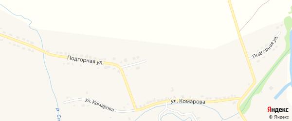 Подгорная улица на карте села Стемасы с номерами домов