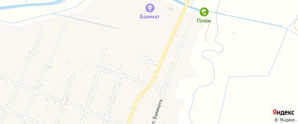 Улица Дружбы на карте села Бамматюрта с номерами домов