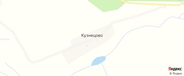 Кузнецовская улица на карте деревни Кузнецово с номерами домов