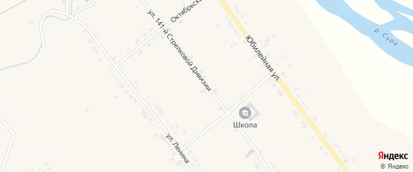 Улица 141 Стрелковой дивизии на карте села Стемасы с номерами домов