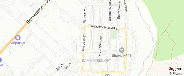 Улица Шаумяна на карте Хасавюрта с номерами домов