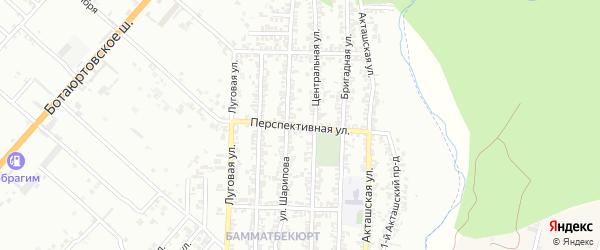 Перспективная улица на карте Хасавюрта с номерами домов