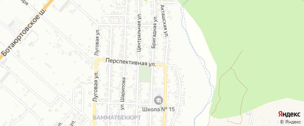 Бригадная улица на карте Хасавюрта с номерами домов