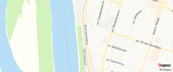 ГСК Мечта на карте Болтинское шоссе с номерами домов