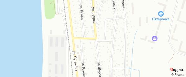 Стефановская улица на карте Котласа с номерами домов