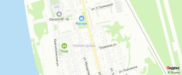 Улица С.-Щедрина на карте Котласа с номерами домов