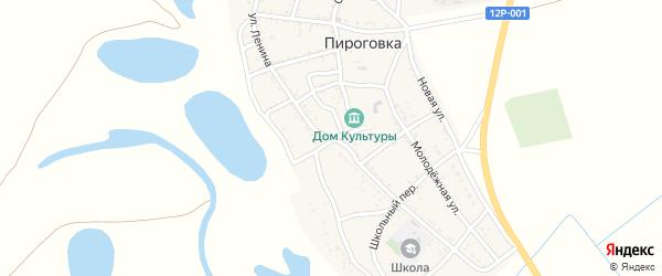 Улица Ленина на карте села Пироговки с номерами домов