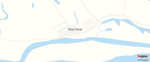 Карта поселка Круглицы в Архангельской области с улицами и номерами домов