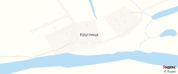 Васильковая улица на карте садового некоммерческого товарищества Круглицы с номерами домов