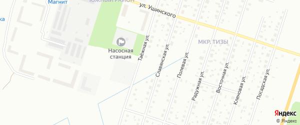 Ильинская улица на карте Котласа с номерами домов