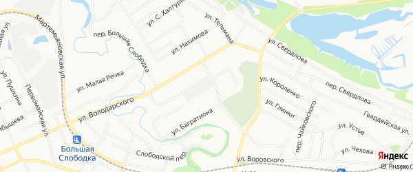 ГСК N101 на карте проспекта Мира с номерами домов