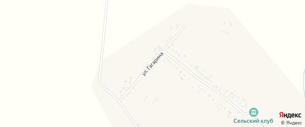 Улица Гагарина на карте деревни Яндаши с номерами домов