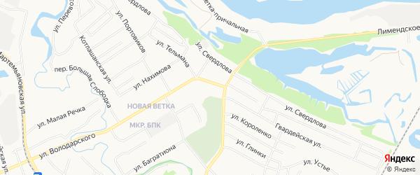 ГСК N136 на карте улицы Володарского с номерами домов
