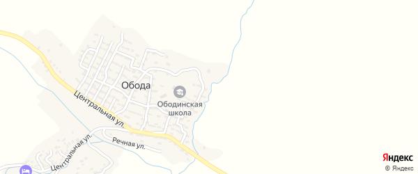 Улица Мансура Гайдарбекова на карте села Геничутля с номерами домов