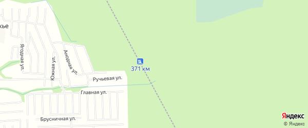 Карта железнодорожного разъезда Русла в Архангельской области с улицами и номерами домов