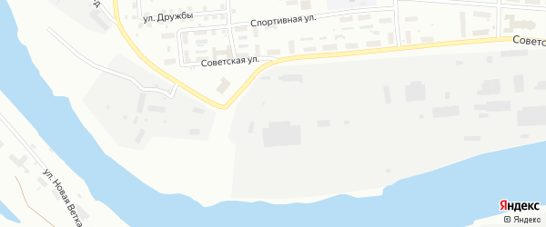 Улица Нефтебаза на карте Котласа с номерами домов